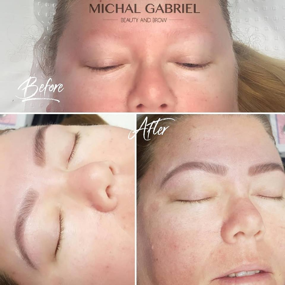 Brow tattooing brow feathering or natural eyebrow?