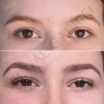natural eyebrow design